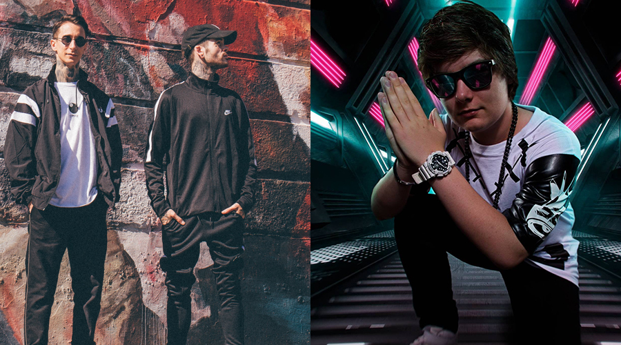 Modestep and Dion Timmer
